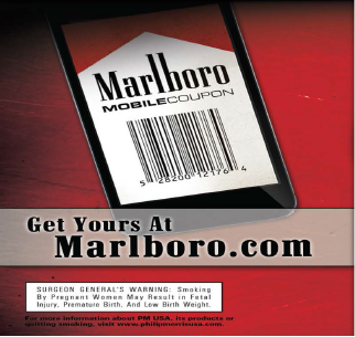 picture relating to Printable Marlboro Coupons named Cellular Coupon Signup Tobacco